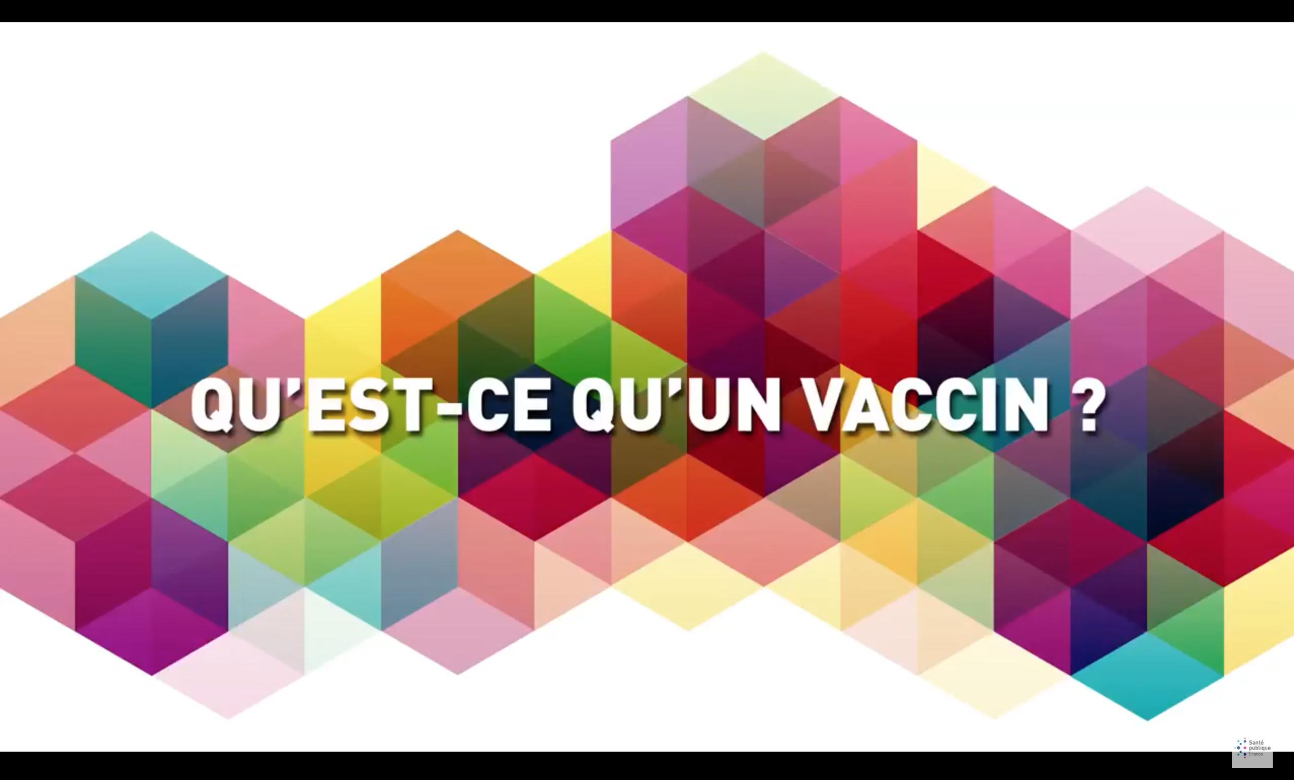 Qu'est-ce qu'un vaccin ?